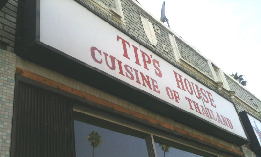 Tip's House: Thai Food Takeout on 6th Street