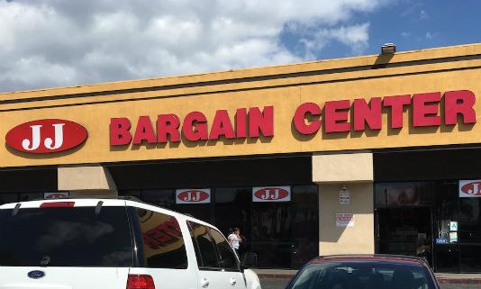 JJ Bargain Center on Vermont Avenue