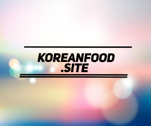 Korean Food Site