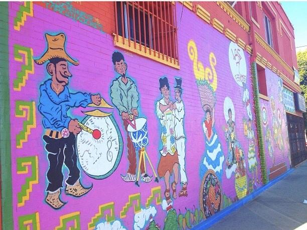 7 Las Regiones mural