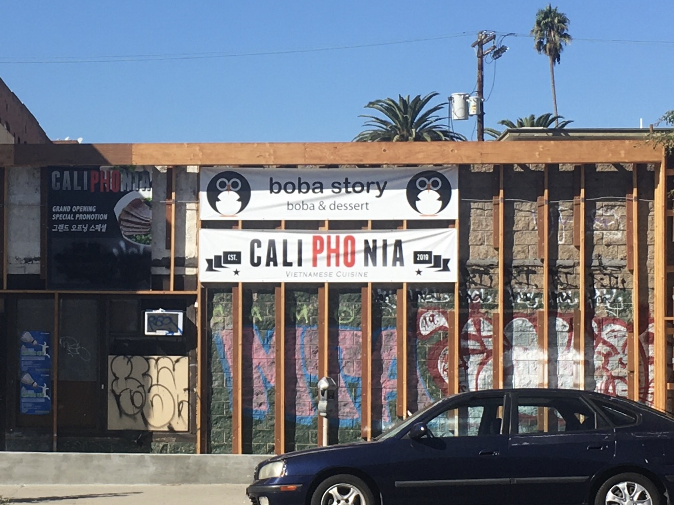 Caliphonia Boba Story in Los Angeles