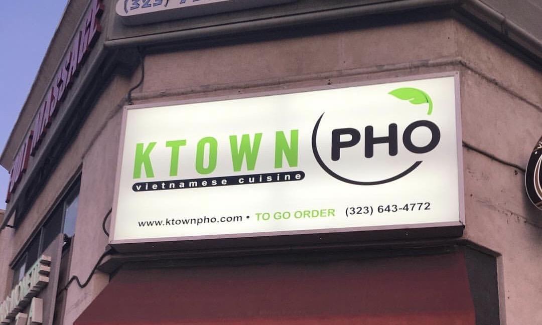 Ktown Pho in Los Angeles