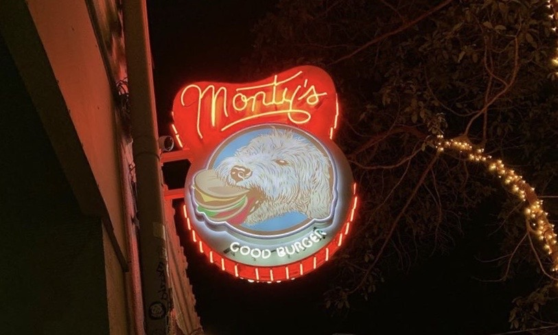 Monty's Good Burger restaurant