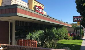 Sizzler in Koreatown LA