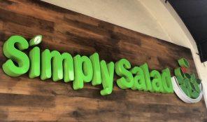 Simply Salad Koreatown Los Angeles
