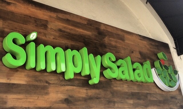 Simply Salad Koreatown Los Angeles