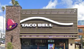 Taco Bell new building