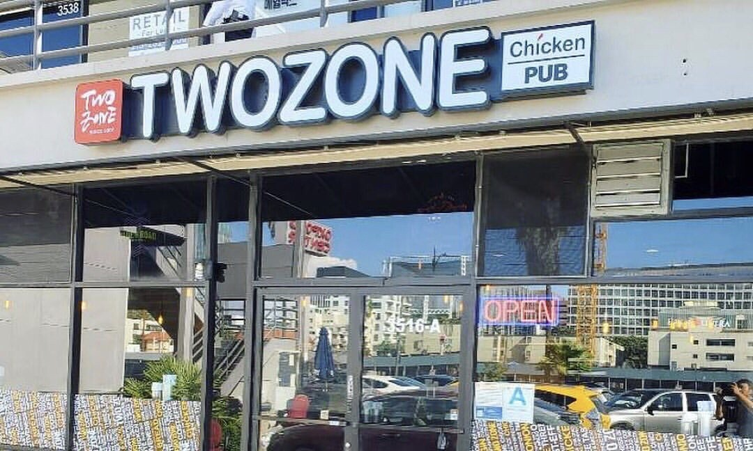Two Zone Chicken Korean Fried