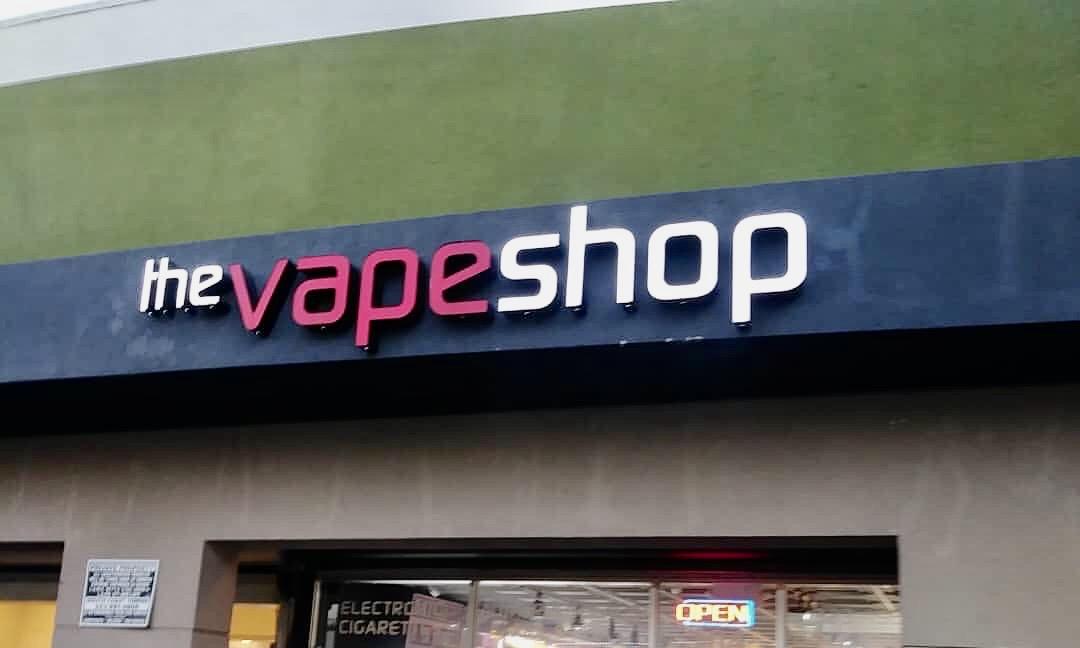 Koreatown vape shop