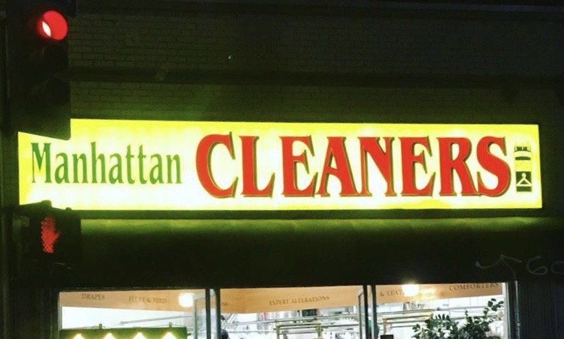 Manhattan Cleaners on 6th Street