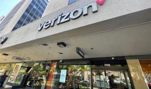 Verizon store in Koreatown