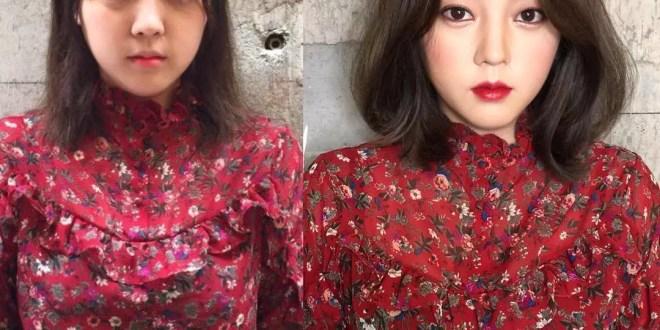 سوف تتفاجئ من مدى قوة ال Make Up الكوري من خلال هذه الصور
