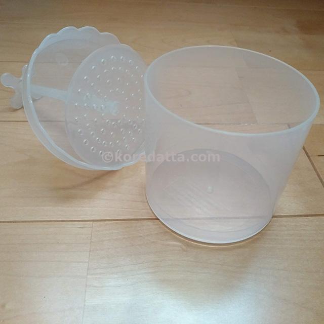 ダイソーほいっぷるんの口コミ。ホイップるんで固形石鹸を泡立るコツ。水の量は?