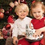 モナコ公国の双子ちゃん3才 クリスマスとナショナルデーの画像
