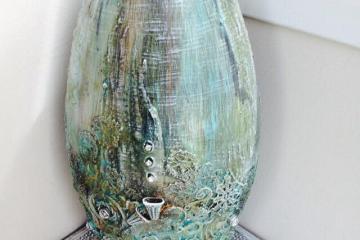 Large vase by Jinny Holt
