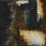 Powertex Mixed media rust art by Kore Sage