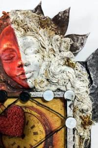 Art Doll face and hair, ways to use Powertex