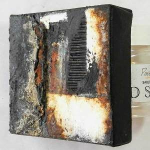 Powertex and rust art