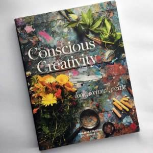 Favourite art books - Conscious Creativity by Philippa Stanton