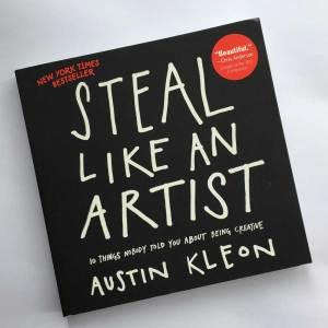 Favourite art Books - Steal like an artist by Austin Kleon