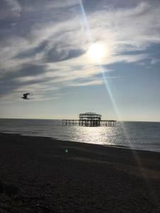 November art inspiration, Brighton West Pier