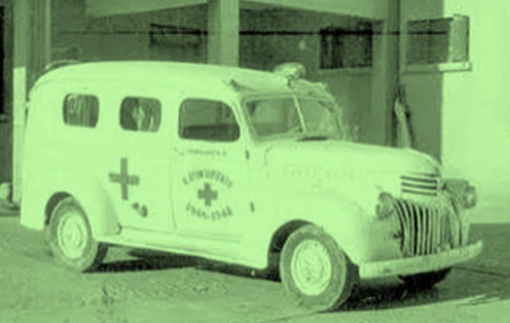 Ambulancia 1945 -. Virgilio Murillo