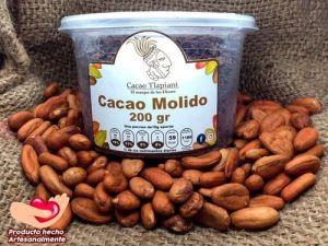 Cacao molido - Tlapiani