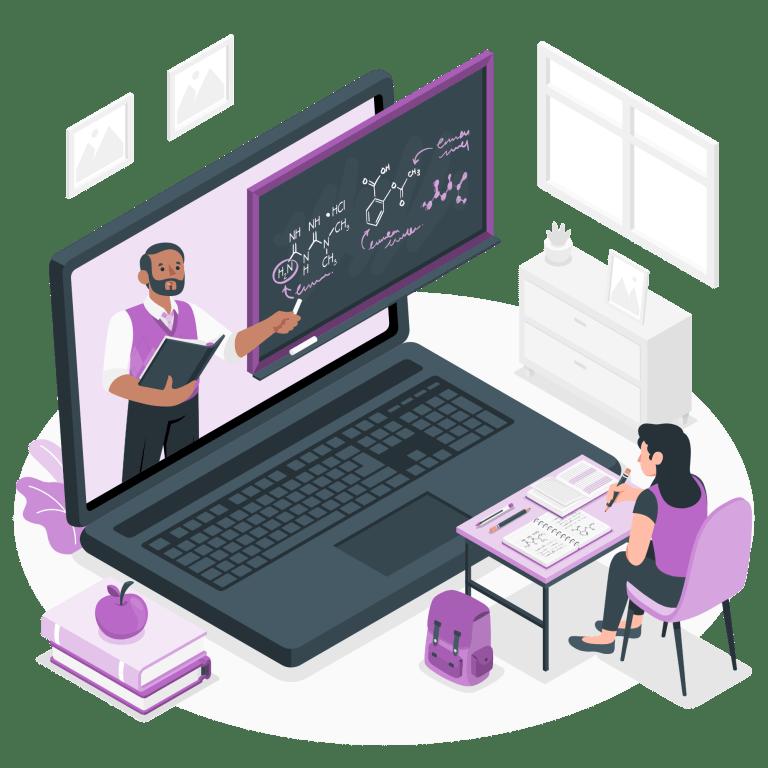 Diseñamos tus cursos en línea su estructura y producción de contenidos con LMS