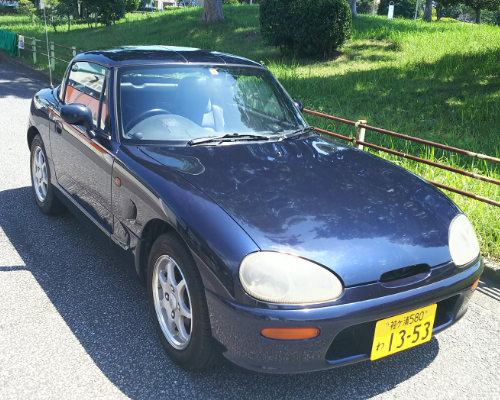 旧車・スポーツカーのレンタカー【香林坊】