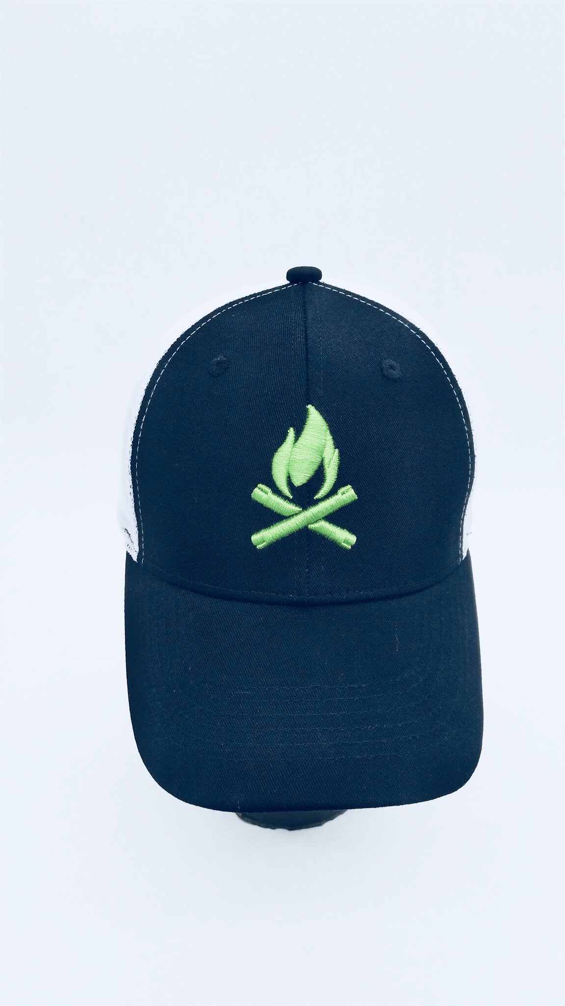 d2417f03cb1 Custom made Trucker Hat with 3D Embroidery Logo