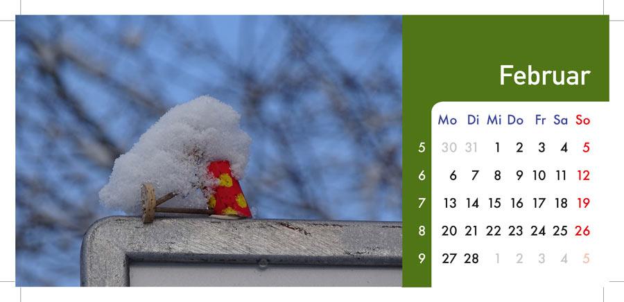 02 Februar Kalender ddz-Berlin