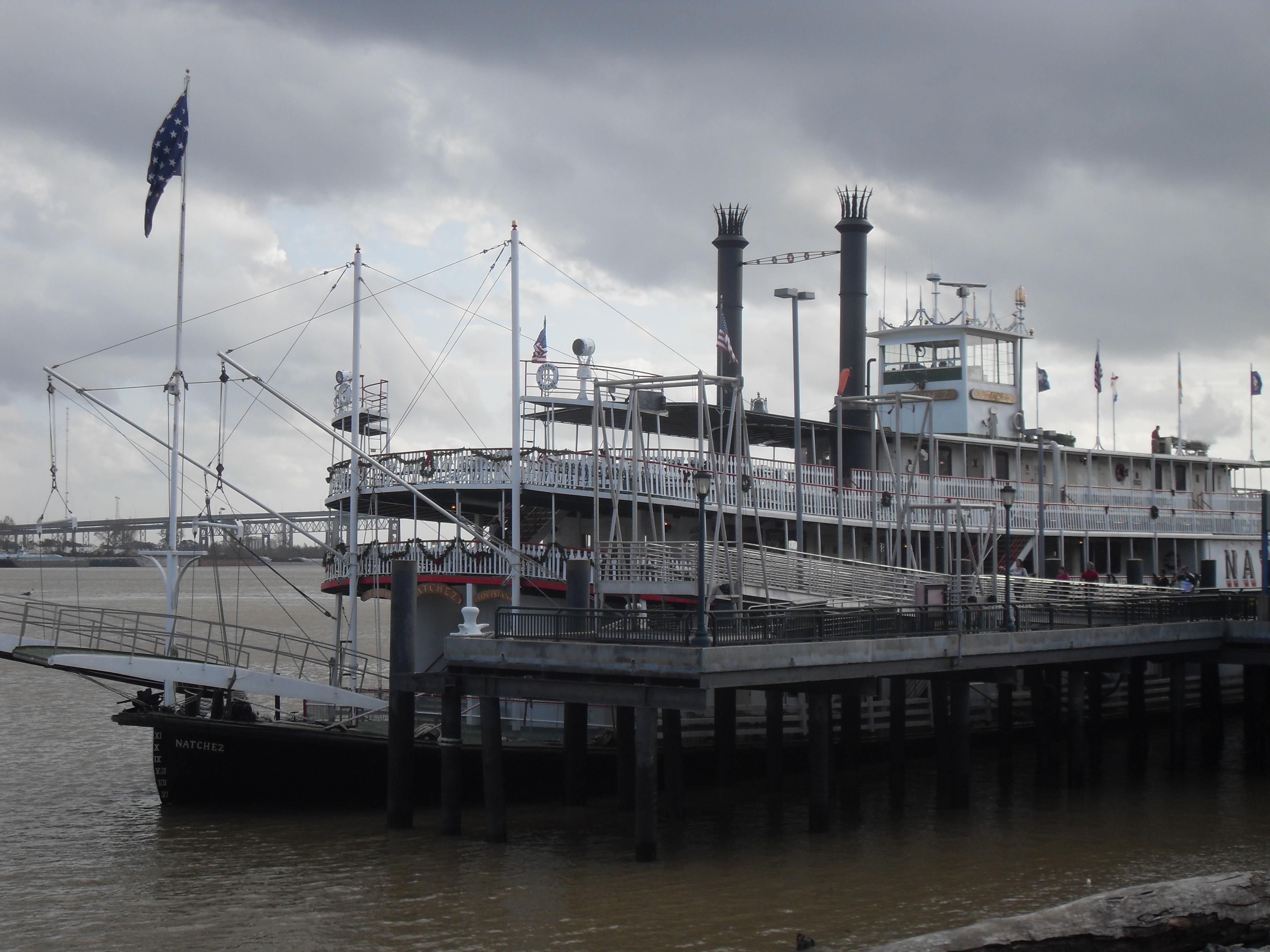 Natchez...the mississipi steamer