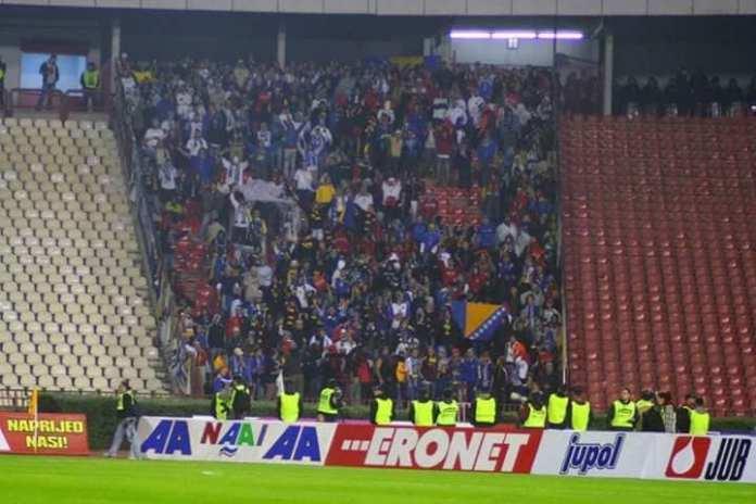 BiH na Marakani! 15 godina od herojske podrške navijača Zmajeva u Beogradu