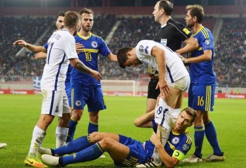 Grčka Bosna i Hercegovina 1:1: Grci su bili na koljenima