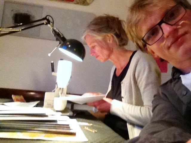 the Chapbook Office in Action