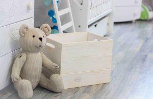 005 Ящик для игрушек деревянный с ручками «Родер» 40х30х30