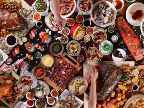 Блюда разных стран.