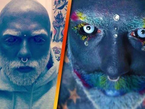 У Адама была причина полностью забить своё тело татуировкой.