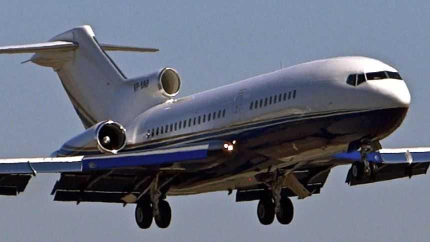 Боинг 727.