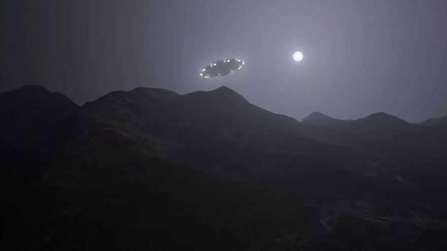 НЛО над Китаем.