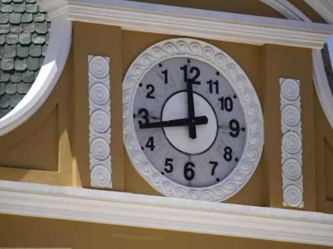 Часы Боливии.
