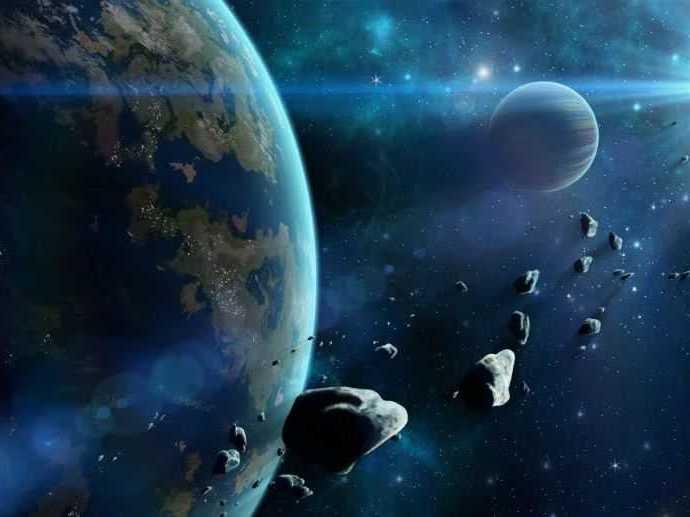 Цивилизация: пояс астероидов.