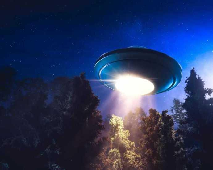 Странная встреча с инопланетянами в Финляндии.