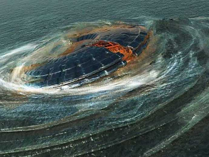 Происшествие в Шег-Харборе: НЛО упал вводу и исчез.