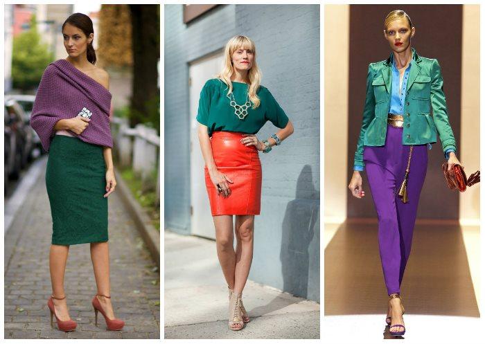касается сочетание изумрудного цвета в одежде фото девушки