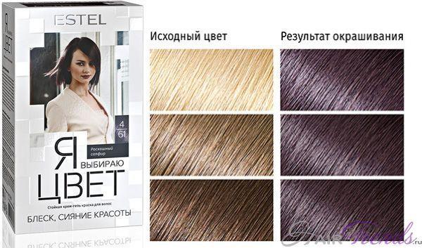Эстель краска для волос: палитра цветов estel я выбираю ...