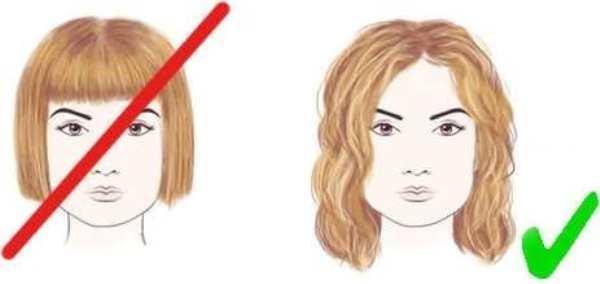 Стрижки для квадратного лица: прически для женщин с формой ...