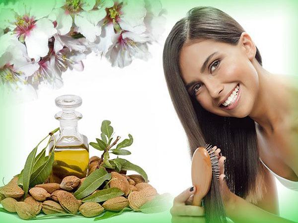 Миндальное масло для роста волос: как применять ...