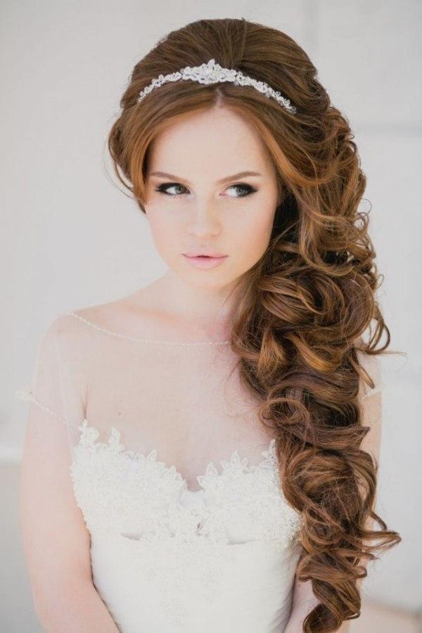Свадебные прически с косами: красивые укладки для невесты ...