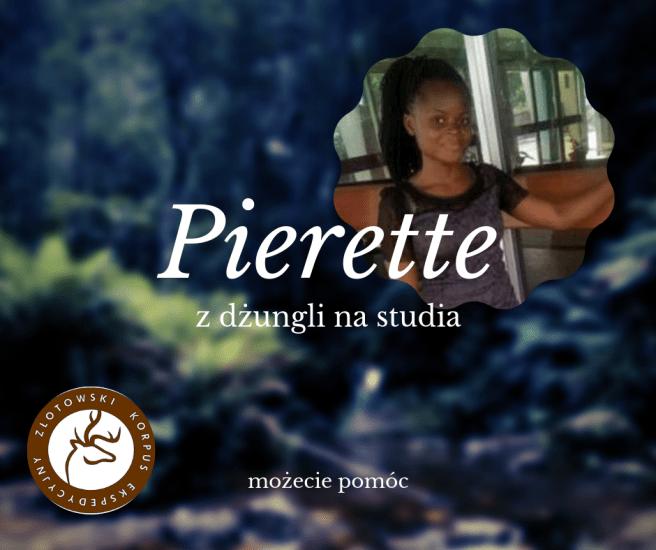 Pierette potrzebuje pomocy